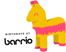 Birthday at Barrio pinata