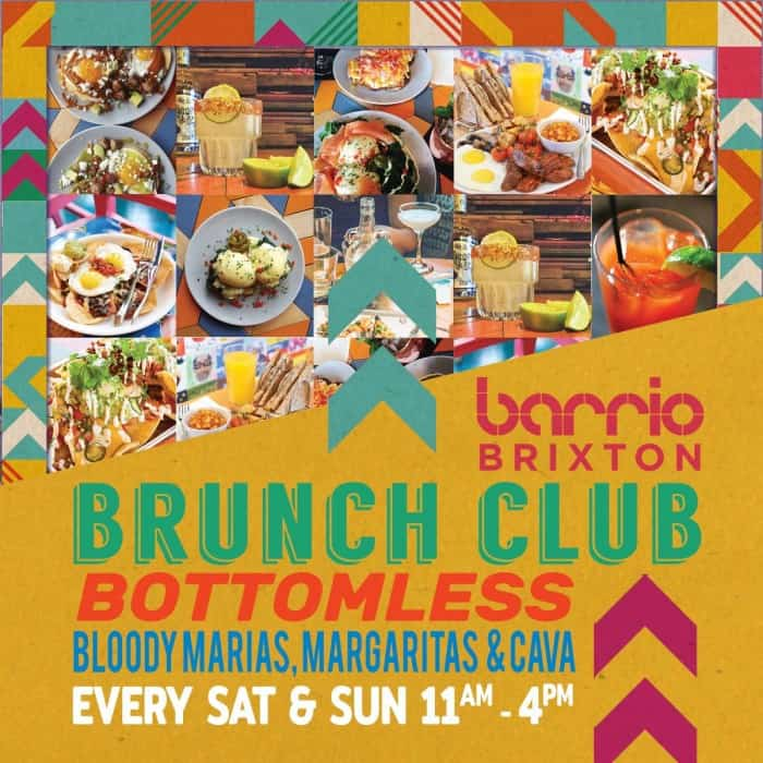 Barrio Brixton Bottomless Brunch