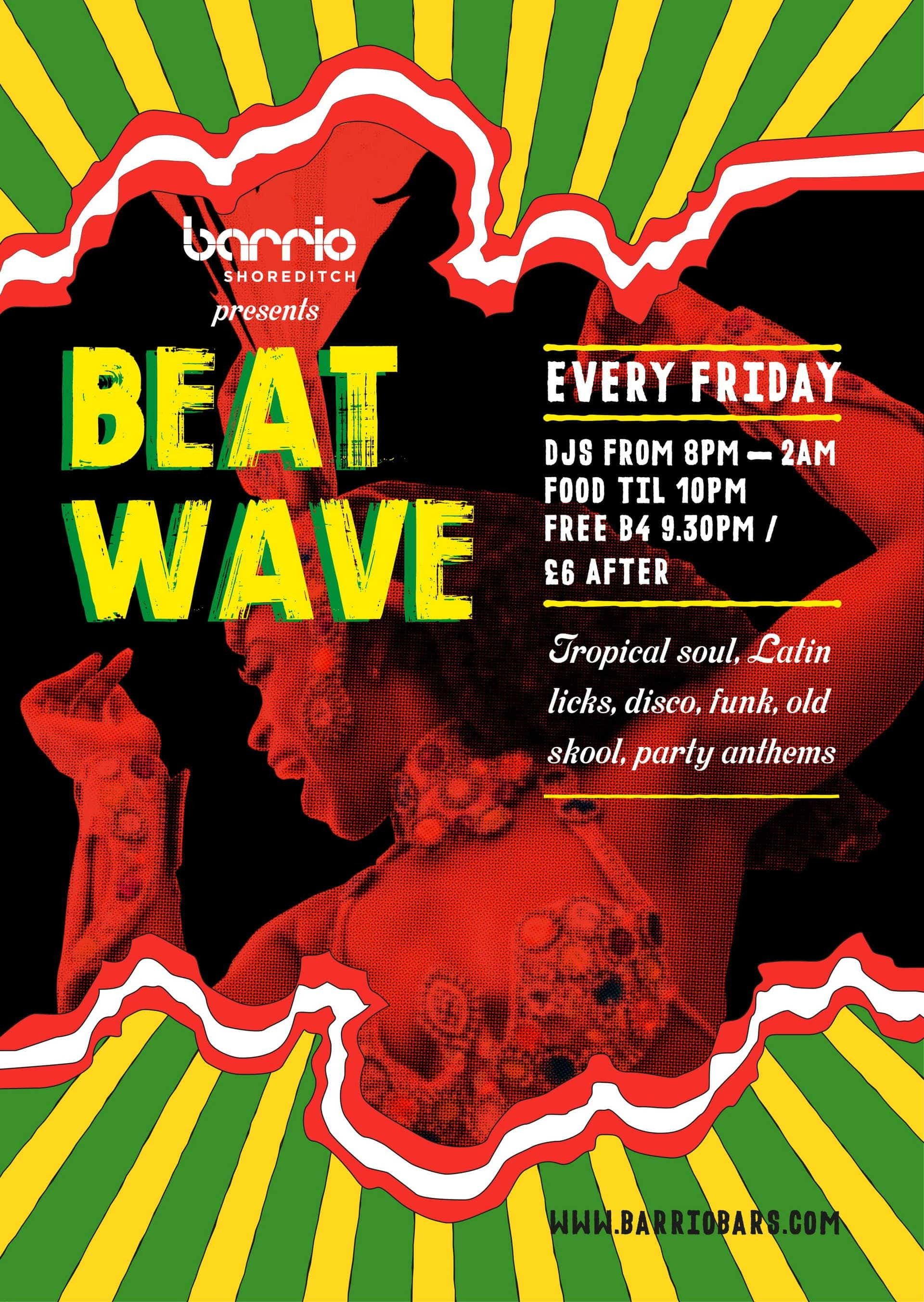 Shoreditch BeatWave Friday night Beat wave