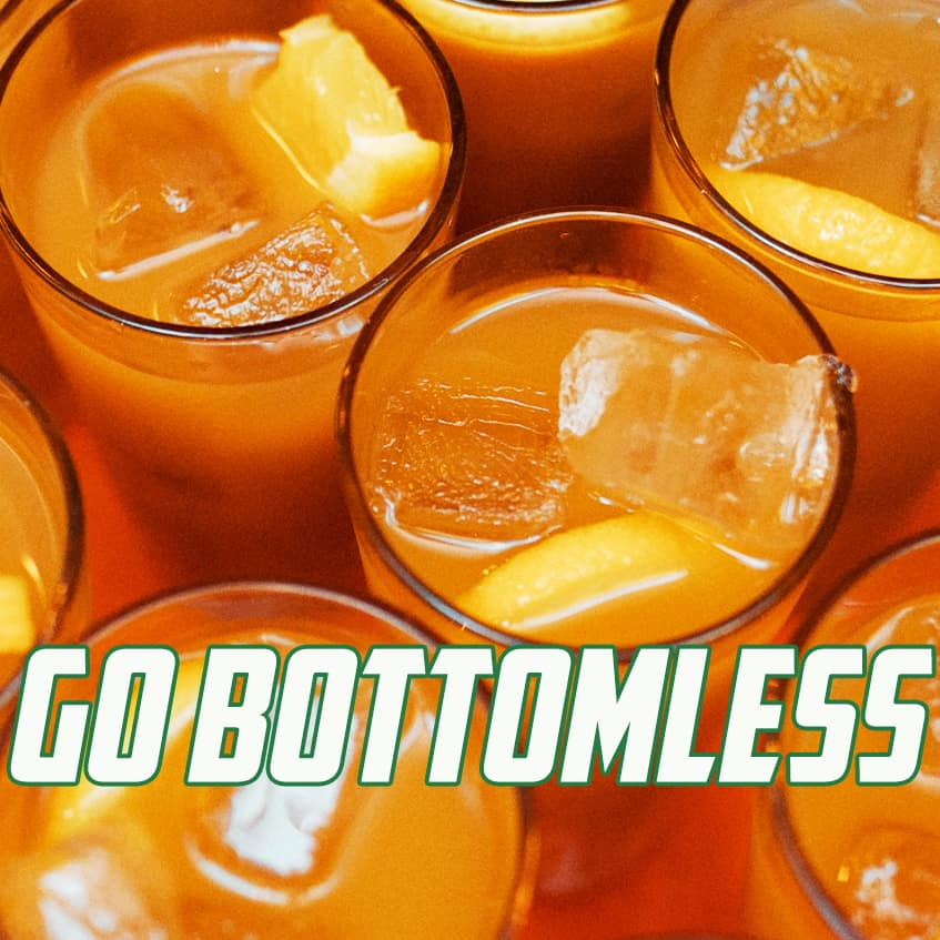 Go Bottomless Drinks Package