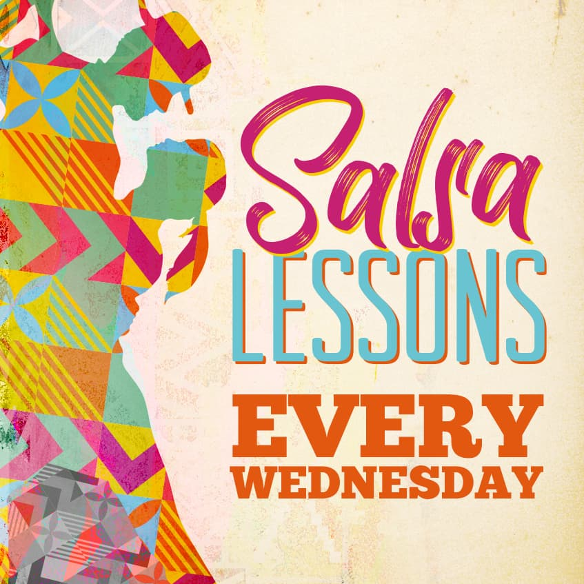 Salsa Lessons Every Wednesday